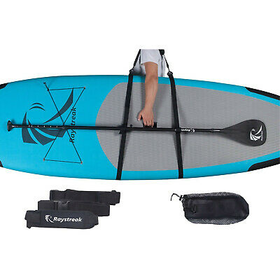 Raystreak SUP Carry Strap Stand up Paddle Board Padded Carrier with Free Drawstr