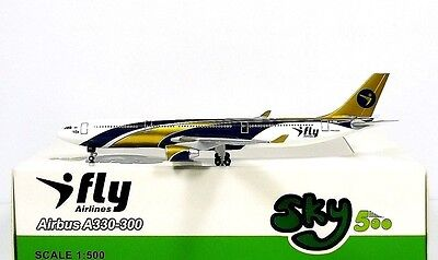 SKY500 I-Fly Airlines Airbus A330-300 1:500 Reg. EI-FBU (0796)