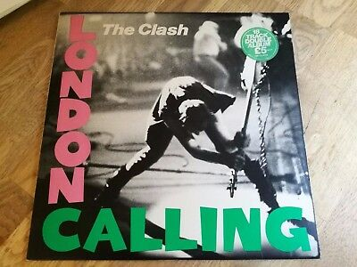 The Clash 2x LP London calling UK CBS 1st press with LYRIC INSERTS +++++++++++++