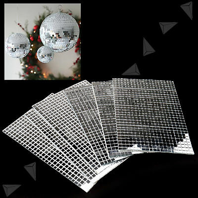 3600pcs Silver DIY Self-Adhesive Mirror Home Decora Mosaic Tiles Mirror Tiling