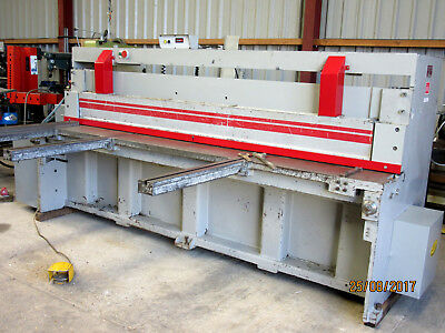 MORGAN RUSHWORTH 3000mm x 6 mm  GUILLOTINE. Price Inc vat.