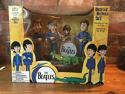 BEATLES DELUXE BOX SET ALL FOUR BEATLES  FIGURES BY SPAWN / McFARLANE
