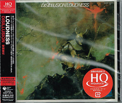LOUDNESS / Disillusion (1984) CD 2009 reissue HQCD limited