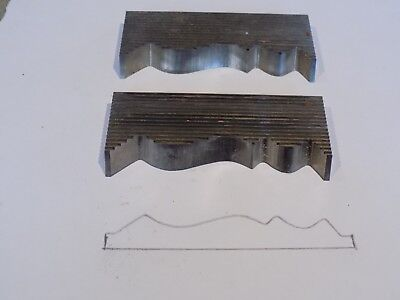 Corrugated Moulder/Shaper Knives- moulding Profile