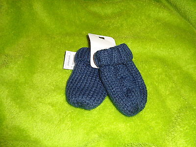 Bnwt Job Lot 12 Pairs Of F&f Mittens One Size From Birth Navy