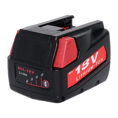Replacement Power Tool Battery for Milwaukee V18 18-volt 48-11-1830 0824-24
