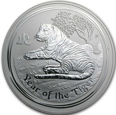 Silver 10 oz Year of the Tiger 2010 ***Limited***