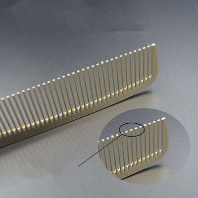 2017 Practical Stainless Steel Cricket Comb Antistatic Cutting Comb Anti Static