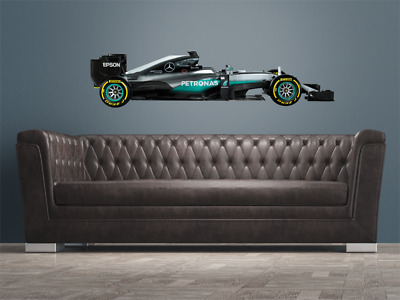 Mercedes Benz F1 Hybrid Wall Sticker 1:3 Scale - officially licensed MERCEDES AM