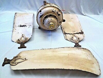 ANTIQUE MARELlI FAN ELECTRIC CEILING ITALY COLLECTIBLES GENUINE HOME EQUIPMENT