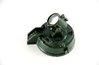 O scale train die cast green spot light accessory
