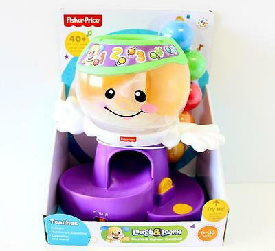 Fisher Price Gumball Count & Colour Ball Drop 40 Songs  Laugh & Learn