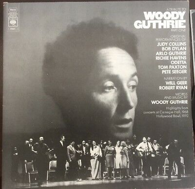 A TRIBUTE TO WOODY GUTHRIE Part 1. Bob Dylan, Judy Collins