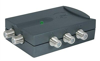 Triax 4-Way Link Amplifier (F Connector)