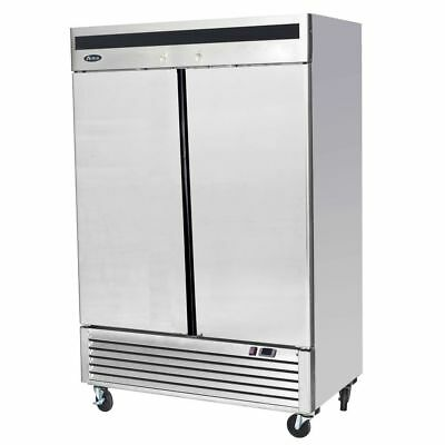 Armoire positive 2 portes inox GN2/1 - 1335 Litres Atosa Catering Equipement