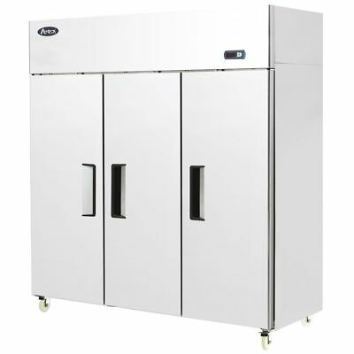 Armoire positive 3 portes inox GN2/1 - 1390 Litres Atosa Catering Equipement