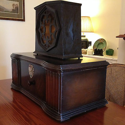Vintage Radio - Rare 1930 AWA C63A Wireless and Amplion AC25 Speaker