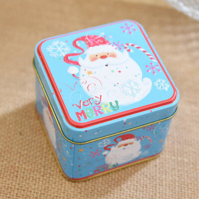 Fancy Iron Box Tin Boxes Storage Candy Jewellery Box Case For Christmas