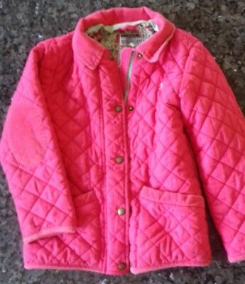 Joules Coat Girls Age 7 Years