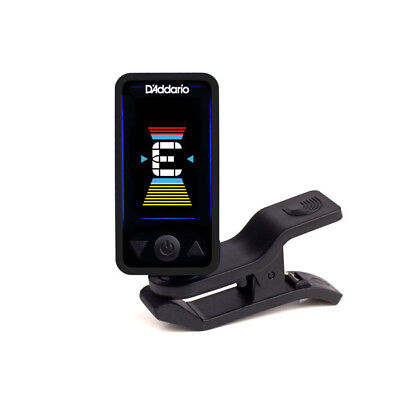 CLEARANCE SALE D'Addario Eclipse Clip On Headstock Digital Guitar Tuner Black