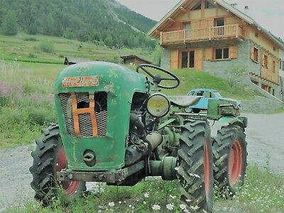 Mini Tracteur Holder A 12