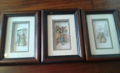 De'coupage  Living Pictures Created By John Ellam Subject Chosen By Anton Pieck