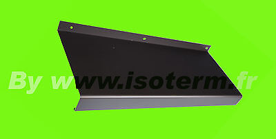 Tablet finestra RAL7016 Antracite girato , Offset=50 mm lunghezza=400 mm