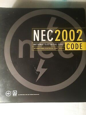 NEC 2002 National Electrical Code Book  International Electrical Code Series
