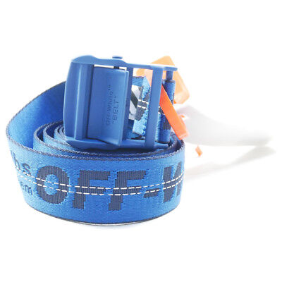 OFF WHITE 17 AW CLASSIC INDUSTRIAL BELT Belt BLUE