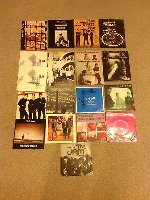 """Collection Of 25 Jam 7"""" Vinyls"""