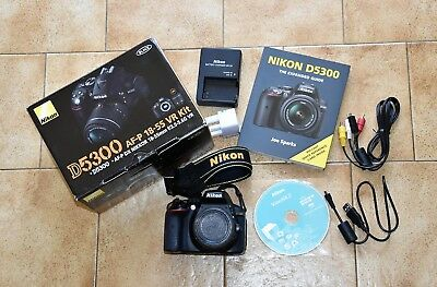 Nikon D D5300 Camera Body - Excellent condition, very low shutter count