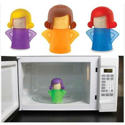 Hot New Newest Metro Angry Mama Microwave Cleaner Kitchen Gadget Tool Useful KJ#