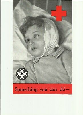Red Cross Penny a Week Fund leaflet Home Front 1941