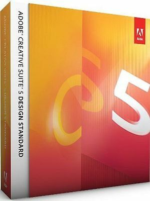Adobe Photoshop CS5 + Indesign + Illustrator MAC IE Vollversion Box Retail