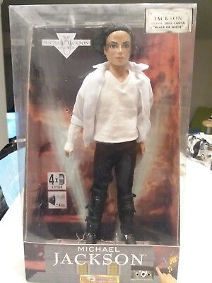 Michael Jackson Poupée Doll Black Or White work
