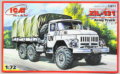 ICM Army Truck Armee-LKW ZiL-131, Bausatz Kit, 1:72 scale 1/72, 98 Teile