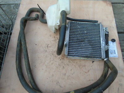 Aprilia sr50 sr 50 Radiator tank and hoses 2010