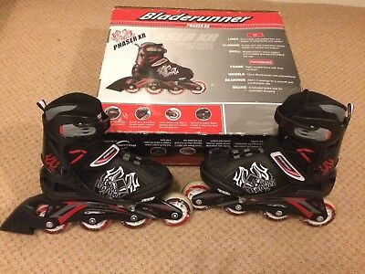 Bladerunner Phaser XR Size 13J-3 Adjustable Inline skates