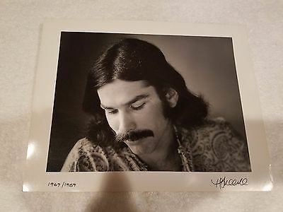 """Grateful Dead / Mickey Hart - Herb Greene 11"""" x 14"""" - Double Signed, Proof Print"""