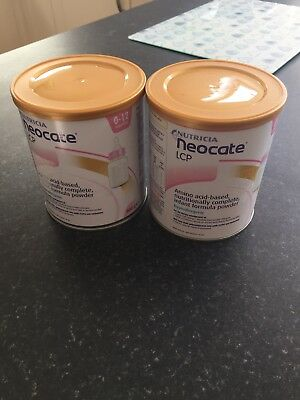 Brand New Baby Formula Neocate LCP X 2