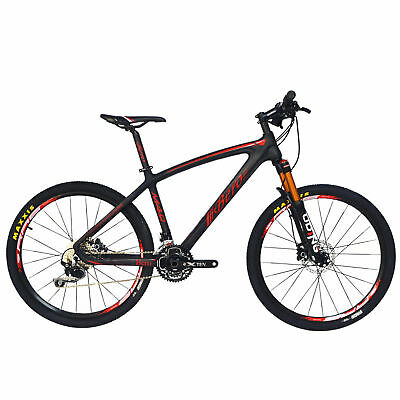 BEIOU T800 Carbon Fiber Mountain Bike SHIMANO M610 DEORE 30 Speed RT 26 CB024B