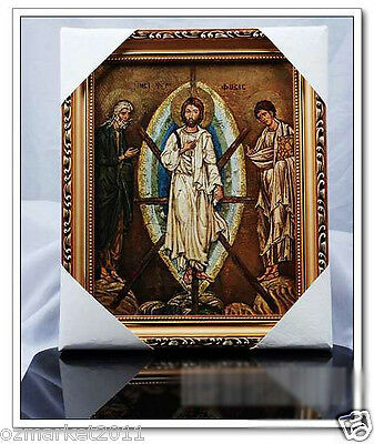 Catholic Church Portrait Jesus Christian Blessed Beautiful Frame Home Decoration