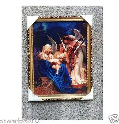 Catholic Church Portrait Jesus Cross Christian Blessed Exquisite Home Decoration