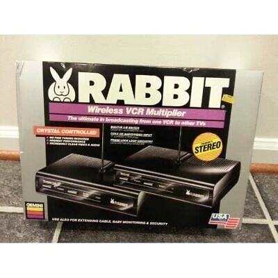 Gemini Rabbit Wireless VCR Multiplier / The Ultimate In Broadcasting From