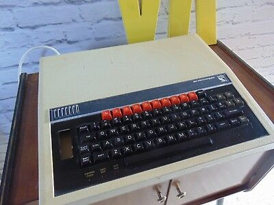 Vintage bbc micro computer keyboard 1980s ? plugs in and turns on