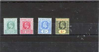 St Helena King Edward V11 Mint Stamps