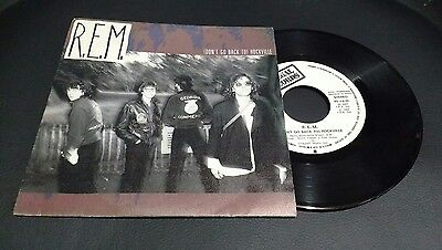 R.e.m. - (Don´t Go Back To) Rockville - Rare Spanish Promo Single Sided