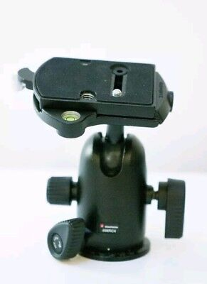 13q Manfrotto 498RC4 Tripod Ball Head with Quick Release Plate | Great condition