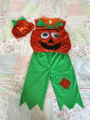 Kids Halloween Pumpkin outfit age 2-3 years