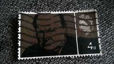 churchill uk postage stamp